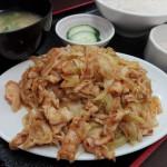 メニュー数は100!どれも旨い!大山の人気中華料理屋さん。喜龍園