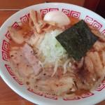 大山の美味しい味噌ラーメン麺屋路三。太麵が最高!