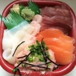 ALL550円の海鮮丼!魚鮮家 大山遊座商店街。早速食べた!